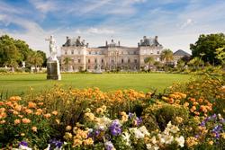 Luxembourg Trädgårdar Paris